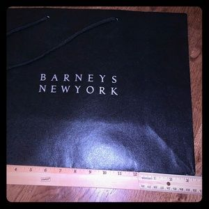 Barney's gift bags and box